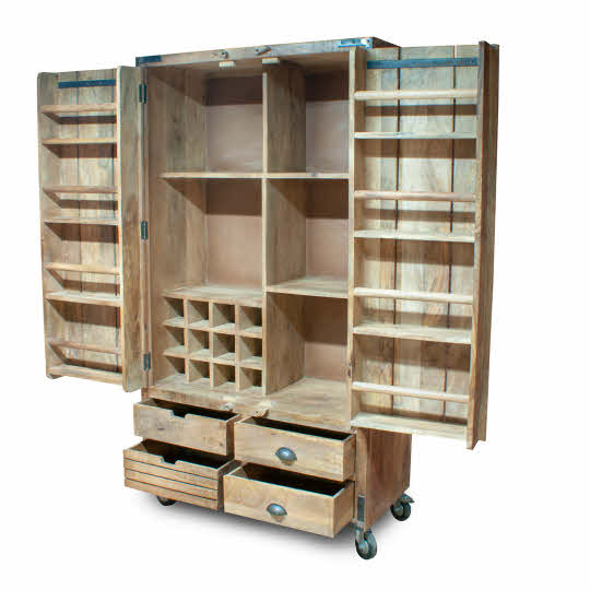 DI17 Storage Cabinet on wheels