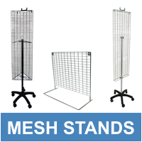 Mesh Panel Displays & Accessories